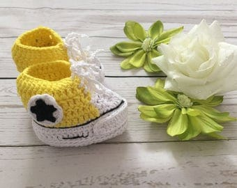 Converse Baby Crib shoes 0-6m