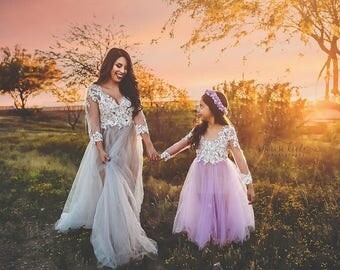 Aurora Tulle Gown Photography Dress Maternity Gown