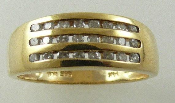 Diamond Ring 0.30ct - 14k Yellow Gold