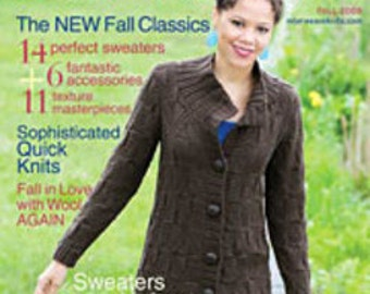 Interweave Knits magazine, Fall 2008, volume XIII, number 3.