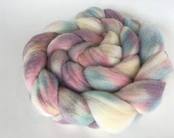 Hand Dyed Merino Combed Top Roving for Spinning and Felting