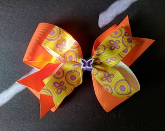 Butterfly Stacked hairbow