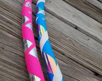 Custom Beginner Hula Hoop- Pick Your Colors!- 3/4 HDPE Beginner/Practice Hula Hoop