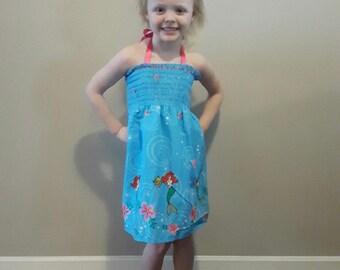 Toddler Girls Ariel Sun Dress 2T-5T