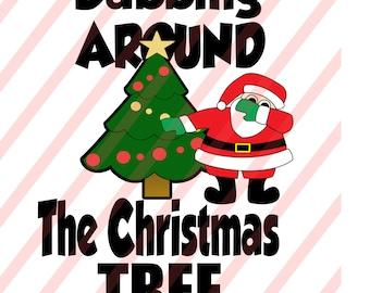 Dabbing around the Christmas SVG/DXF