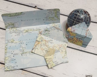 A2 map atlas envelopes with cards (10)