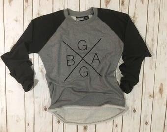City and state sweatshirt(example is ball ground ga) crewneck sweatshirt