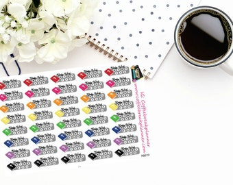 Planner Stickers |Small Bible Reading Tracking Stickers|Daily Bible Reading Tracker Sticker|For use in various planners and journals| RB019