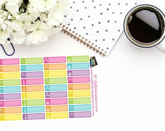Planner Stickers Entertainment Appointment Reminder Stickers Appointment Reminder Stickers For use in various planners and journals AL003-HV