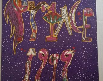 PRINCE 1999 2xLP Set Vinyl Record 1982 Little Red Corvette Delerious Funk Soul R&B
