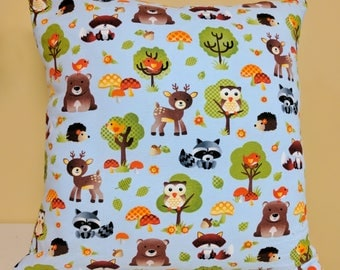 Woodland Pillow, Woodland Creatures Baby Shower, Woodland Creatures Nursery, Woodland Nursery Decor, Woodland Baby Shower, Woodland Baby