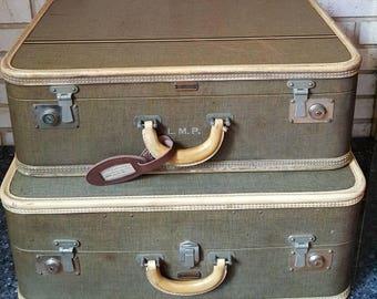 Vintage oshkosh luggage | Etsy