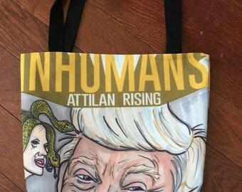 Trump Inhumams tote bag