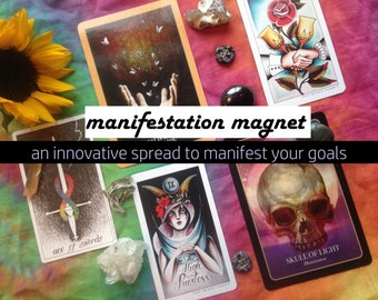 Manifestation Magnet: A 3-5 Card Tarot & Oracle Reading to Manifest Your Goals