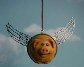 Rolypoly Flying Pig accessoire de voiture miroir
