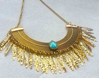 "Bohemian necklace Ethnic with the inspirations ""Inca"""