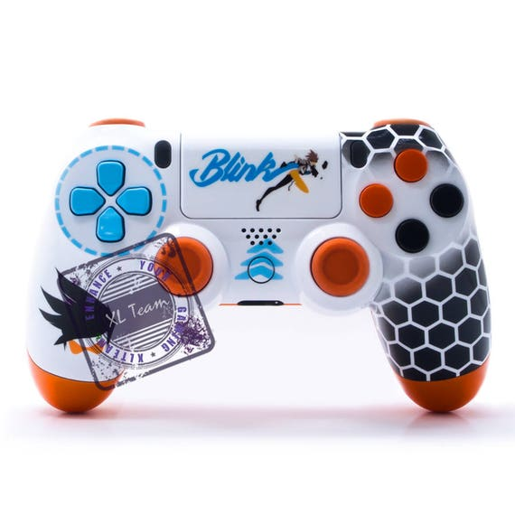 Custom PlayStation 4 PS4 DualShock 4 Controller Overwatch