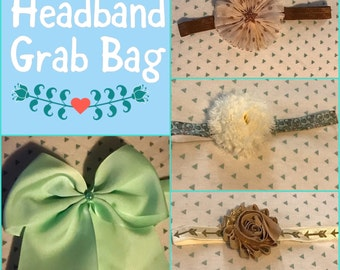 Headband grab bag - headband deal - baby headbands - girls headbands
