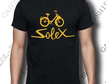 "T-shirt ""solex"" T-shirt vintage gift idea."