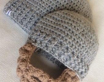 Beard beanie hat, wooly hat with beard, children's hat with beard, beard hat, adult beard hat, baby beard hat