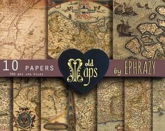 Map digital paper. Antique maps. Vintage maps. Old maps. Vintage maps digital. Vintage maps paper. Maps digital paper.