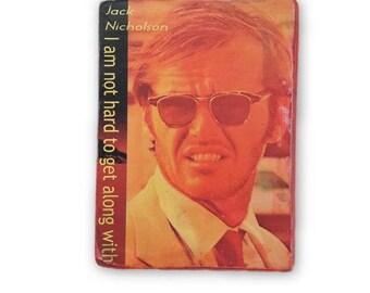 Jack Nicholson - wall hanging print - office art - art prints - wooden decor - inspirational quote