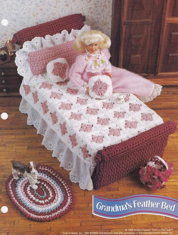 Grandma S Feather Bed Annie S Attic Crochet Doll Clothes