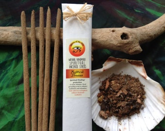 Mystical Dreams incense sticks ~ Exotic natural fragrance ~ NO chemicals  ~ Handrolled by Queen of the Nile UK