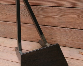 Wooden Acoustic Guitar Stand - Black Stain