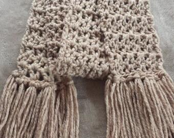Chunky fall scarf