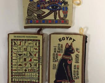 Handmade Egyptian  wallet or Cell Phone Case Made In Egypt