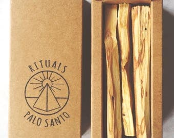 Palo Santo Wood Sticks . High Quality Aromatic &  Ethically Sourced . Holy Wood . Rituals Incense.