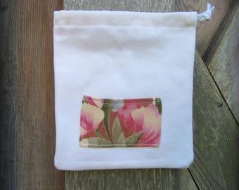 Small reusable storage or gift bag