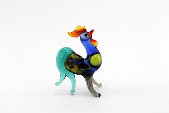 Glass figurine new years gift animal collectible