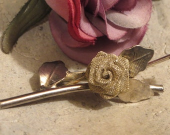 Vintagebrosche antique, old brooch-old jewel flower brooch, Art Nouveau brooch-Art Deco jewelry estimated about 50 years