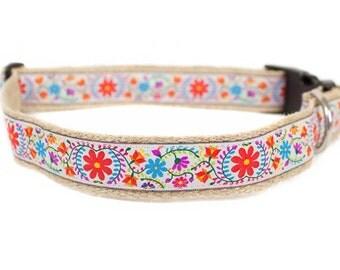 Dog collar / leash BOHO