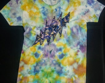 Hand dyed Women's t shirt size M