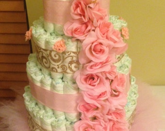 Diaper Cakes fit for an Angel