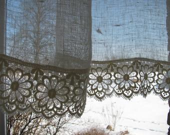 Custom sheer panels | Etsy