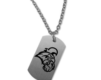 Coastal Carolina University Chanticleers Necklace | Stainless Steel | Multiple Styles | Officially Licensed