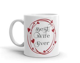11 oz Coffee Mug: Best Wife Ever
