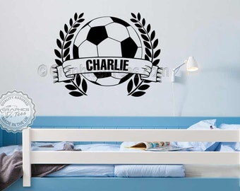 Lovely Football Wall Decal | Etsy Part 10