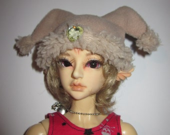 BJD doll MSD (1/4) winter rabbit Hat