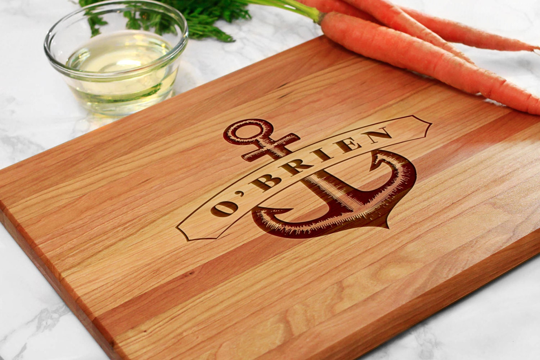 Innovative Wedding Gifts: Nautical Gift Custom Anchor Wedding Gift Modern Wedding