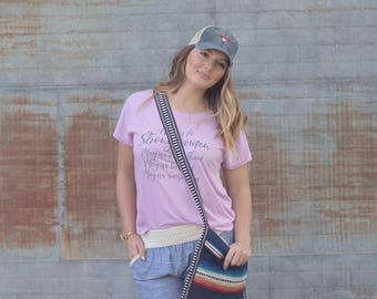 Serape Crossbody/Serape Blanket Bag/Southern Peach/Crossbody Purse