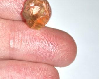 6.2cts Natural Citrine Point, Raw Citrine Point, Rough Orange Quartz Crystal Stone, Natural Gemstone, Citrine Crystal ED287