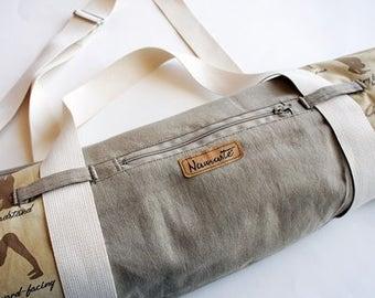 Namaste Yoga BAG and Yoga STRAP 2in1, sport bag, shoulder bag