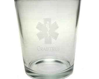 Gift for EMS - FREE shipping in cont US - ems tumbler - 13 oz custom engraved tumbler set