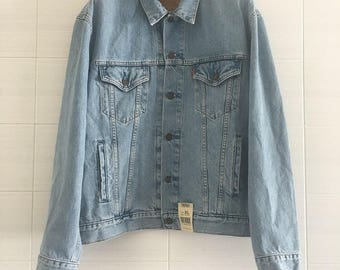 Vintage Levi's jeans jacket new with tag
