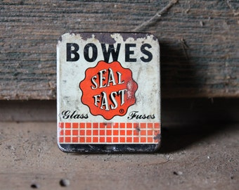 Bowes glass fuses and tin